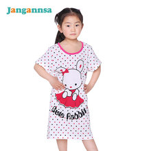 425af61d36 Girl Kids Pyjama Nightie Dress Cartoon Sleep Wear Print Nightgown Pajama  Nightie Cute Princess Dress 100% Cotton 2016 Hot Sale