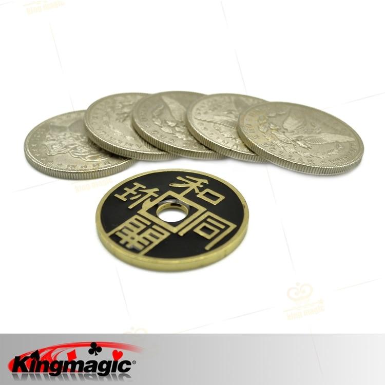 पोंटा द्वारा छुट्टी बिक्री बीमार स्मिथ डीवीडी 6 सिक्के प्राचीन सिक्के जादू सहारा मुफ्त शिपिंग