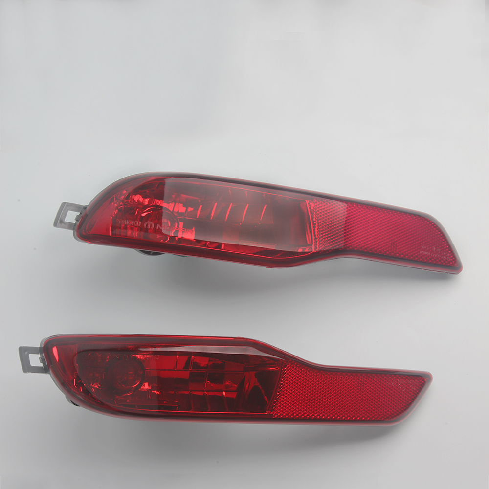 Image 2 - 1Pair Car Rear Bumper Fog Light Lamp Red Reflector Tail Lamp for Jeep Cherokee 2014 2015 2016-in Car Light Assembly from Automobiles & Motorcycles