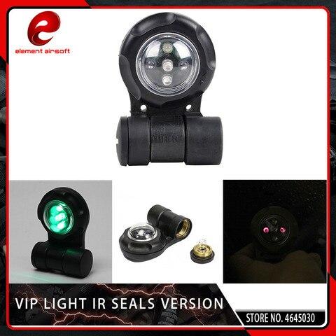 elemento airsoft vip luz ir led sinal de luz de seguranca aviso led strobe luz