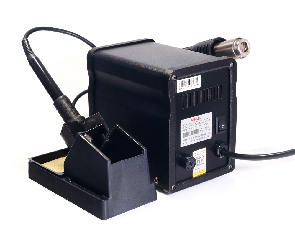 YIHUA 8786D Hot Air Digital Soldering Station for Phone and Laptop Chip Soldering 18