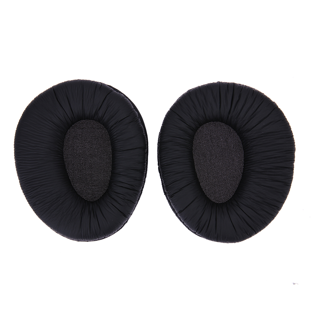 1 pair Black Replacement Protein Leather Cushions Ear Pads Ear Cushion for SONY MDR-V600 MDR-V900 Z600 7509 Headphones