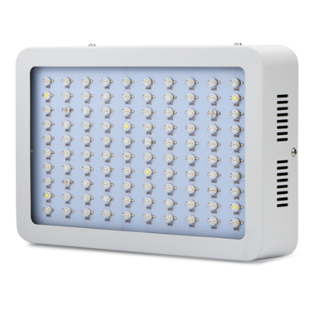 Amats LED Plant Grow Light 300W Full Spectrum LED Grow Light for Indoor hydro Plants Veg and Flowering 200w full spectrum led grow lights led lighting for hydroponic indoor medicinal plants growth and flowering grow tent
