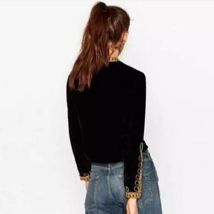 Velvet-jackets-For-Women-Europe-Style-Stand-Collar-Long-Sleeve-Velvet-Coat-Women-Spring-Vintage-Bomber