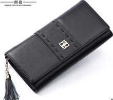 2017 Korean version of the first layer of wallet short wallet purse
