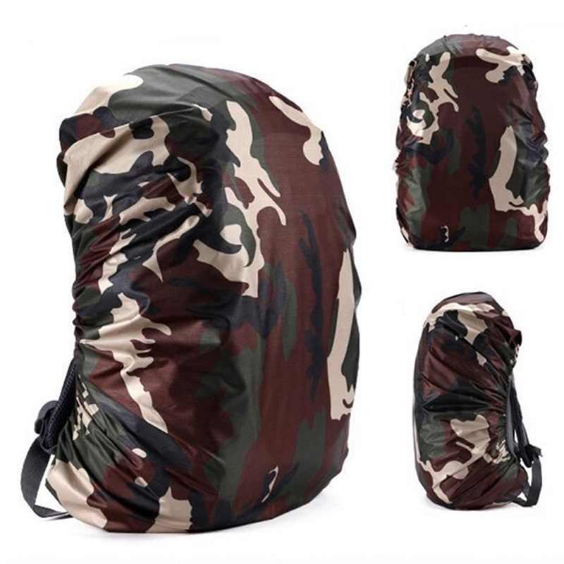 Monchain 35/45L ajustable impermeable mochila resistente al polvo lluvia cubierta portátil ultraligero hombro proteger herramientas al aire libre senderismo