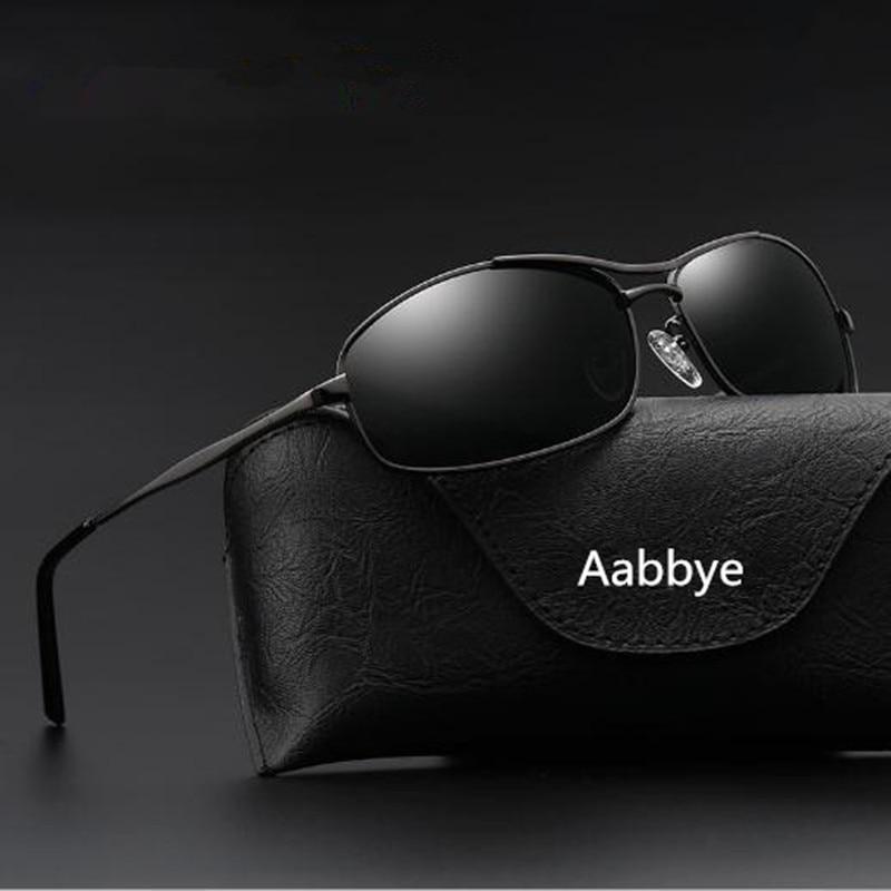 Aabbye 2017 new men's sunglasses with high definition sunglasses square men's casual sunglasses oculos de sol