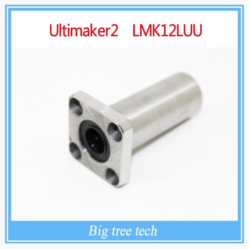 Impresora 3D Diy Accesorios Ultimaker2 Extendida LMK12LUU Brida de Rodamiento Li