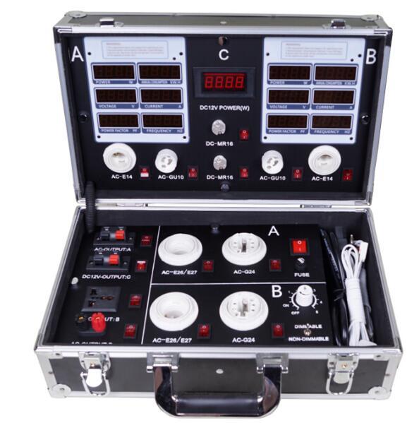 LED demo case,The high-end LED digital display test box,LED lighting