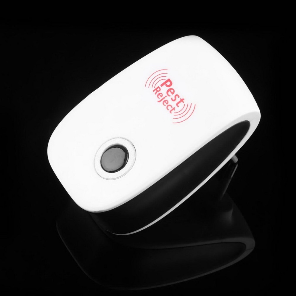 Drop ship Electronic Ultrasonic Rechargeble Anti Mosquito Insect Pest Reject Mouse Repellent Repeller Practical Home Necessity