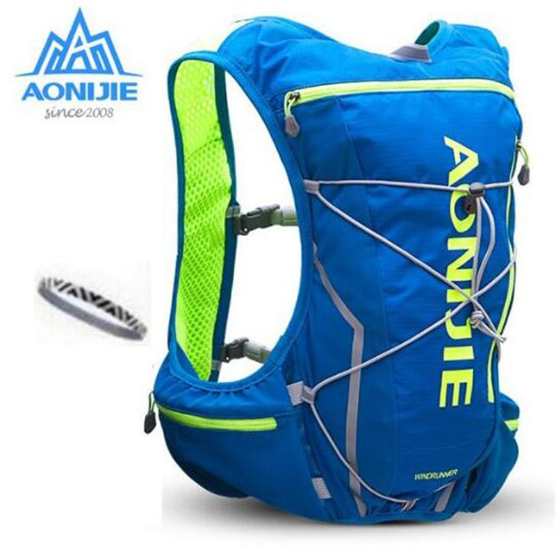 AONIJIE Men Women Outdoor Bags Hiking Backpack Vest Marathon Running Cycling Backpack