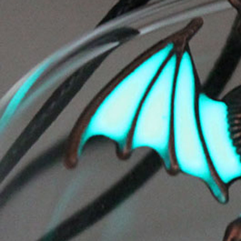 dragon GLOW in the DARK Punk Luminous Dragon Pendants & Necklaces dragon amulet Sweater Chain Christmas Gift ancient