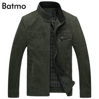 2016 New Arrival Autumn High Quality Cotton Men S Casual Jacket Army Green Khaki Jacket Men
