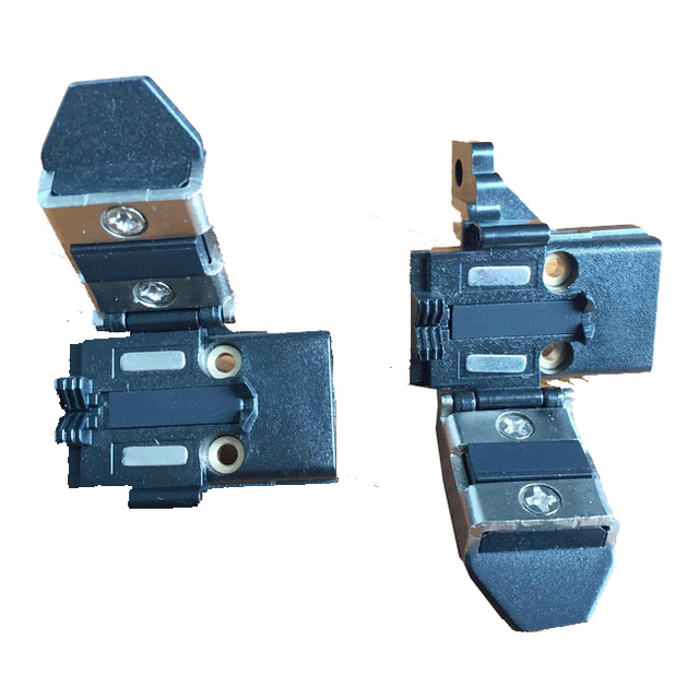 1 пара FTTH Fujikura FSM-50S сварочный аппарат покрыты зажимы FSM50S одноядерный покрыты косичка зажим бесплатная доставка