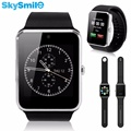 10 pcs gt08 bluetooth smart watch whatsapp gms câmera esporte smartwatch facebook spoort mtk6261d cartão sim card tf para iphone presente