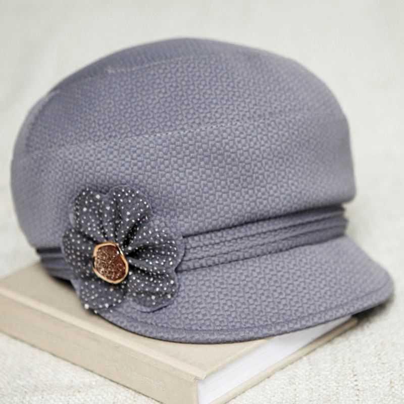 #3262 2016 Spring Autumn Touca feminina Hats for women Fashion Middle aged beanie Casquette homme Bonnet Bones masculino