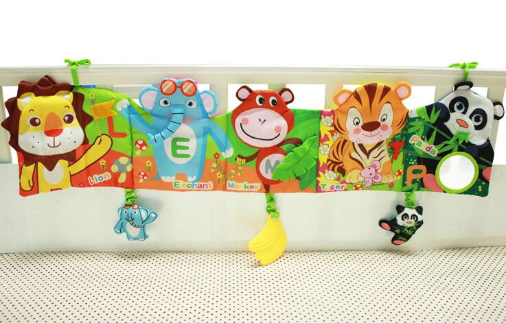 Crib Toys Learning : √baby mobile cloth book crib bed around early