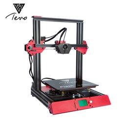 TEVO Flash 3d принтер алюминиевый экструзионный 3d принтер комплект 3d печать предварительно построенный 50% sd-карта в подарок