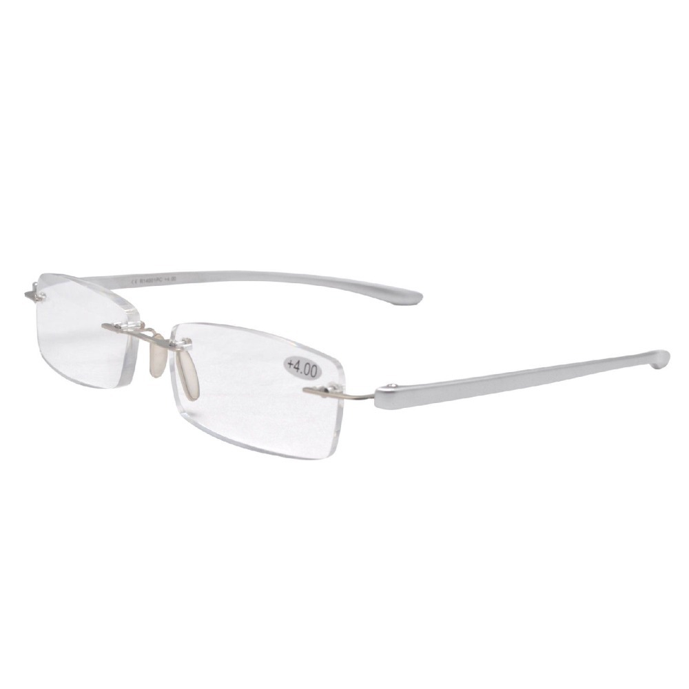 Rimless Glasses Lightweight : Aliexpress.com : Buy R14001 Silver Rimless Fashion ...