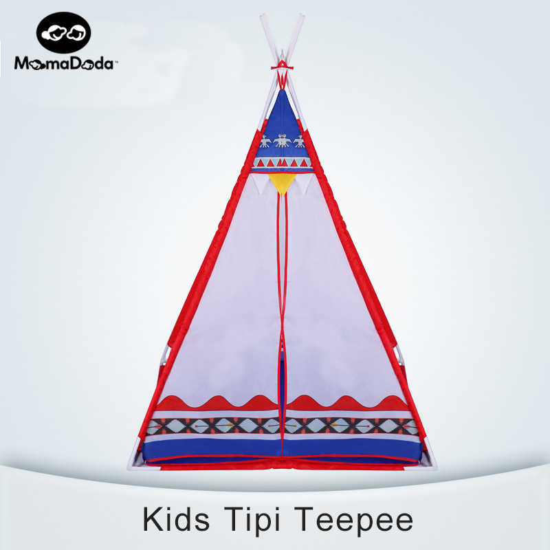 kids tipi tent canvas teepee for children outdoor toy house baby play game balls pit playpens portable tent infant lodge  gift best selling child toy tents tipi kids game house girl princess play tent teepee children house indoor outdoor toy tents