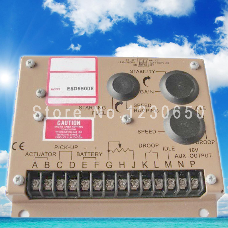 ESD5500E diesel generator electronic speed controller ESD 5500E pro p65 page 2