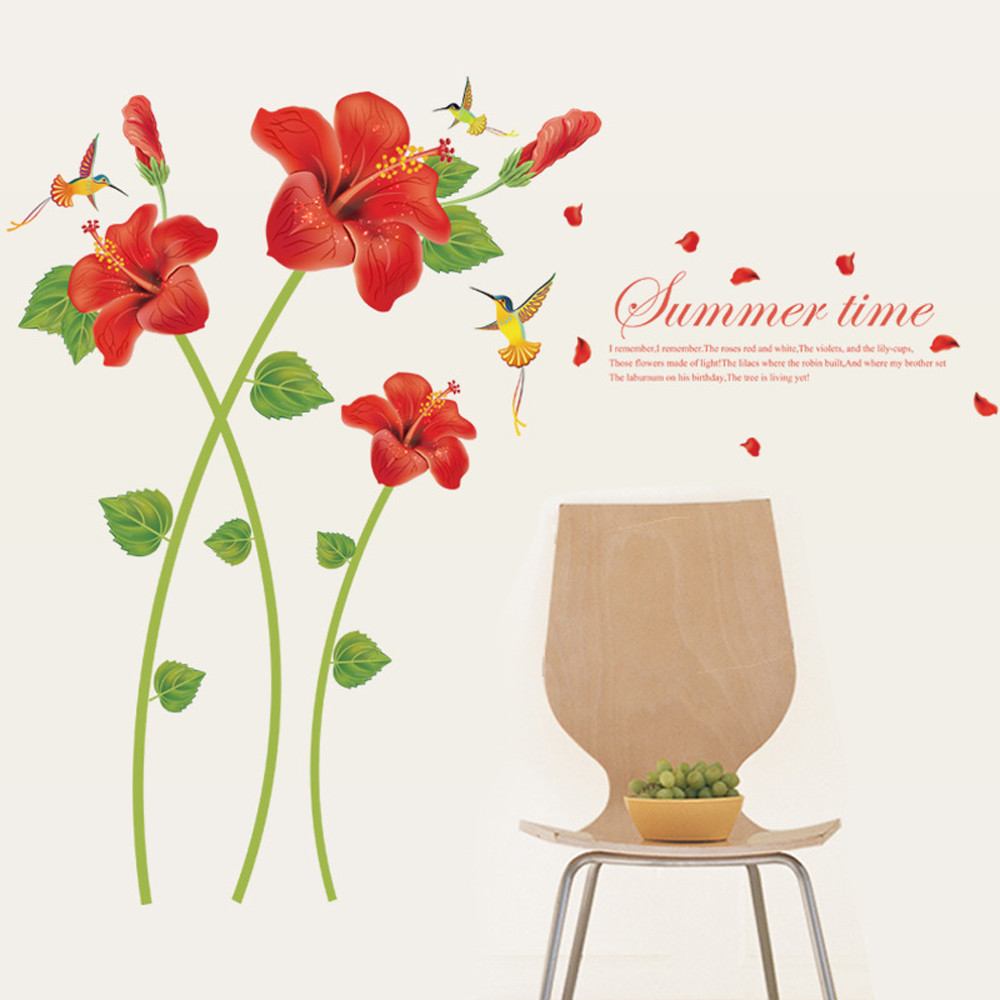 Flower wallpaper home decor home depot - Floral wallpaper home depot ...