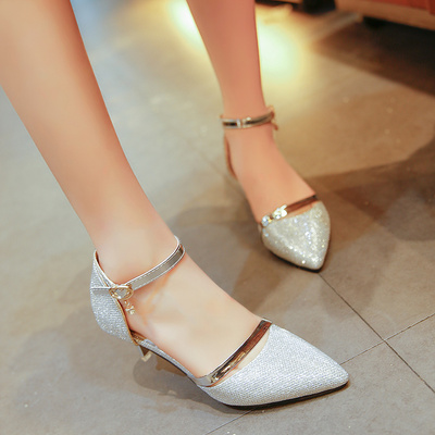 Tip with fine single shoes with a single shoes wedding shoes with a low heels high heels бюстгальтер с вкладышами sadie