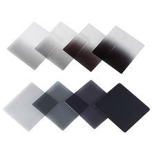 ใหม่จบการศึกษาสีเทาตารางสีเต็มรูปแบบกรองND ND2 ND4 ND8 ND16ความหนาแน่นN Eutralกรองcokin Pซีรีส์D5200 D5300 D5500