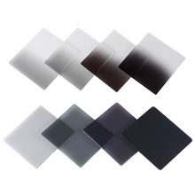 Nieuwe Afgestudeerd Grijs Volledige Kleur Vierkante Filter ND ND2 ND4 ND8 ND16 Grijsfilter voor Cokin p serie D5200 D5300 D5500