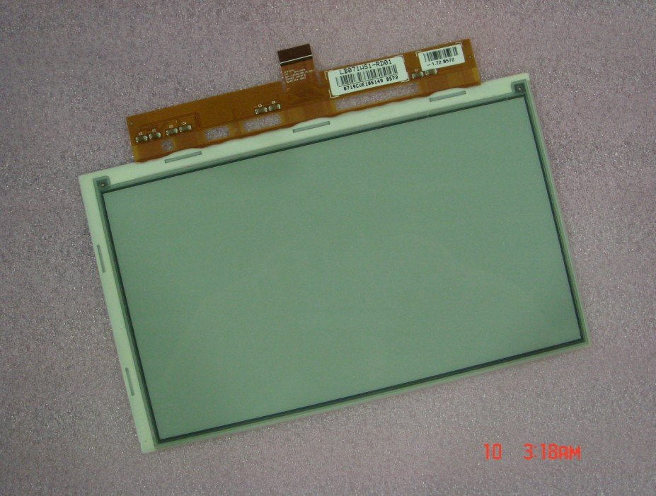 E-ink LCD display LB071WS-RD01 LCD for Ebook reader weisberger l everyone worth knowing