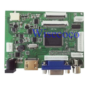 EJ101IA-01G 8 bit IPS LCD Display Driver Board VS-TY2662-V2 HDMI VGA 2AV 40/50 Pins Controller board