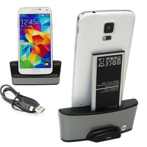 Dual Charging Battery Charger Phone Holds