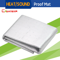 50CM X 100CM Auto Car Firewall Door Hood Sound Proof Heat Thermal Shield Insulation Mat Material