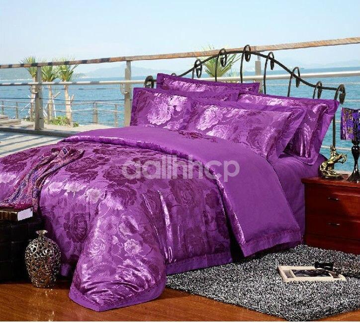 Luxury Bedding Sets Queen Size Silk