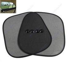 2 шт черная сторона окна автомобиля солнцезащитный козырек Солнцезащитный