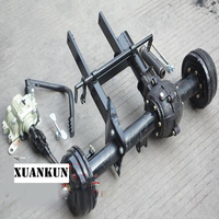 XUANKUN ATV Karting Three Wheeled Motorcycle Modified Shaft Drive Differential Rear Axle Suspension