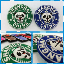 Free shipping Panda Bear Fridge Magnets Rubber Figures Shang hai China Tourist Souvenir home decoration toy party supply gifts