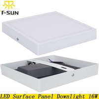 Led Recessed Ceiling Light Square 16W Led Recessed Light Surface Mount 4014 SMD Manufacturers Led Panel