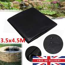 Fish Pond Liner Gardens Landscaping Pools PVC Membrane Reinforced Landscaping Heavy Pool Waterproof Liner Cloth(China)