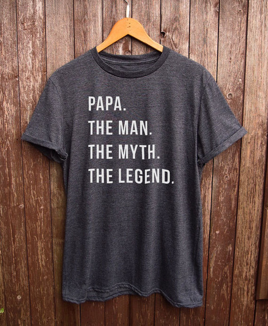 Engraçado Camisa Papa-pai presentes, presentes para o pai, pai engraçado camiseta, presentes para o papa papa tshirt presente do vovô Mais Tamanho e Colors-B088