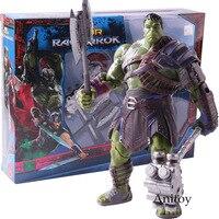 Marvel Thor Ragnarok Hulk Robert Bruce Banner Action Figure PVC Collectible Model Toy
