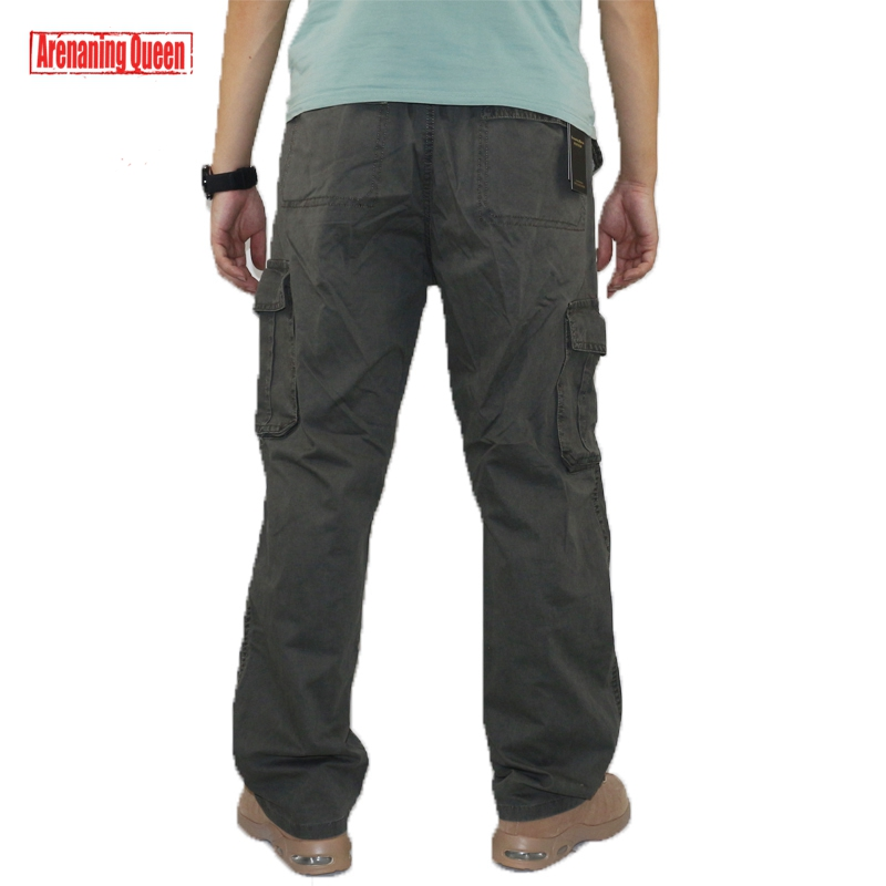 1b53798a0698 Men s Tactical Cargo Pants Multi Pocket Work Harem Men Military Army Baggy  Overalls Cotton Casual Pants Camo Joggers Trousers