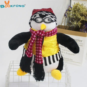 Serious Friends Joey's Friend HUGSY Plush Toys PENGUIN Rachel Stuffed Doll Toys for Children Kids Birthday Christmas Gift 18
