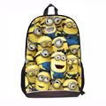 Best Gifts for Kids Minion Large School Bags Cute Mochila Despicable Me 2 Bag Children Cartoon backpack Students School bag