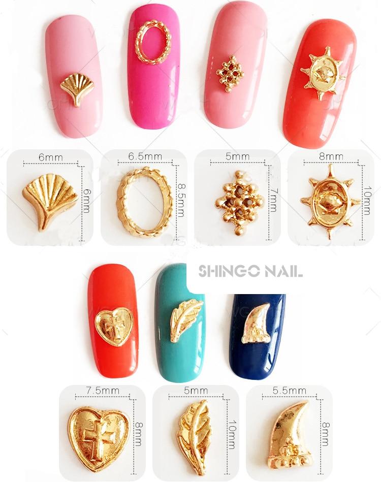 100pcs per new nail art DIY decoration Metal Alloy Kawaii Jesus ...