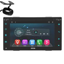 Android 6.0 Double two 2Din Car DVD gps Player GPS Car Stereo Navigation Vehicle Auto Radio Support WiFi Mirror Link OBD2+Camera