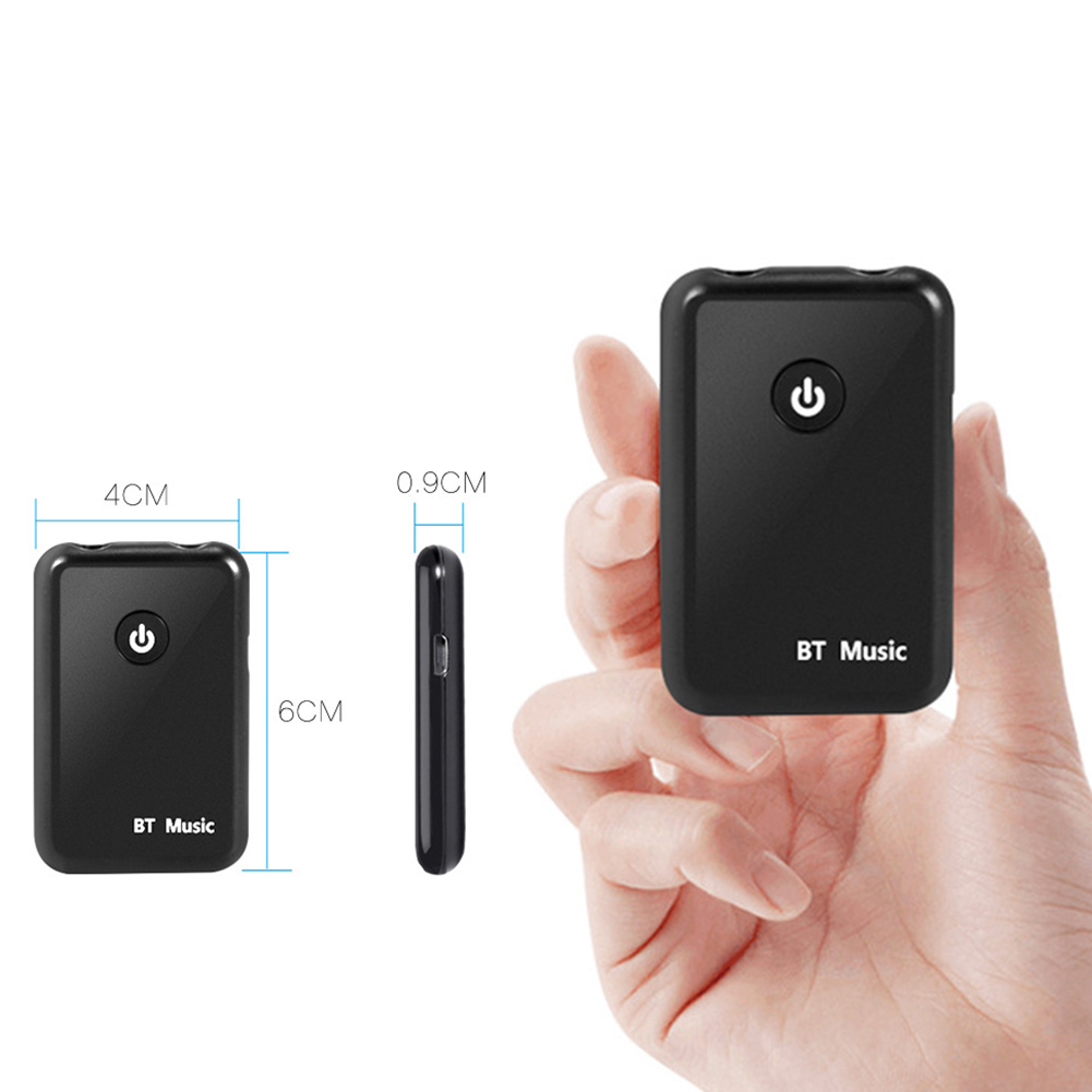 Tragbares Audio & Video Pflichtbewusst Neu Bluetooth 2in1 Sender/empfänger Drahtlose 3,5mm Adapter Aptx Niedrigen Latenz Für Tv Zuhause Sound System