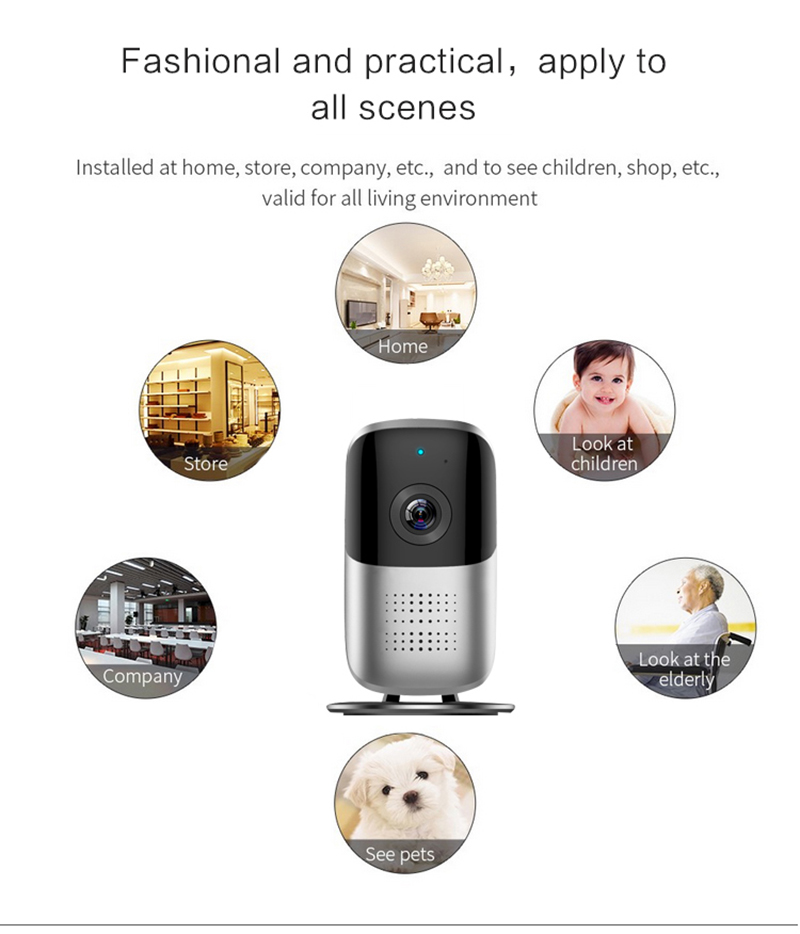 1080HD Wireless WIFI 185 Degrees Panoramic Home Network Camera Phone APP Infrared Night Vision Remotely Surveillance Camera1080HD Wireless WIFI 185 Degrees Panoramic Home Network Camera Phone APP Infrared Night Vision Remotely Surveillance Camera