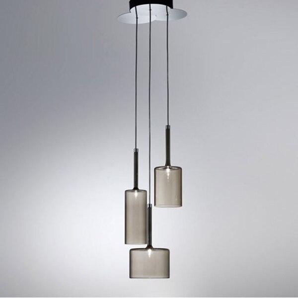 spillray sp3 3 suspension light by manuel vivian by axo light dining
