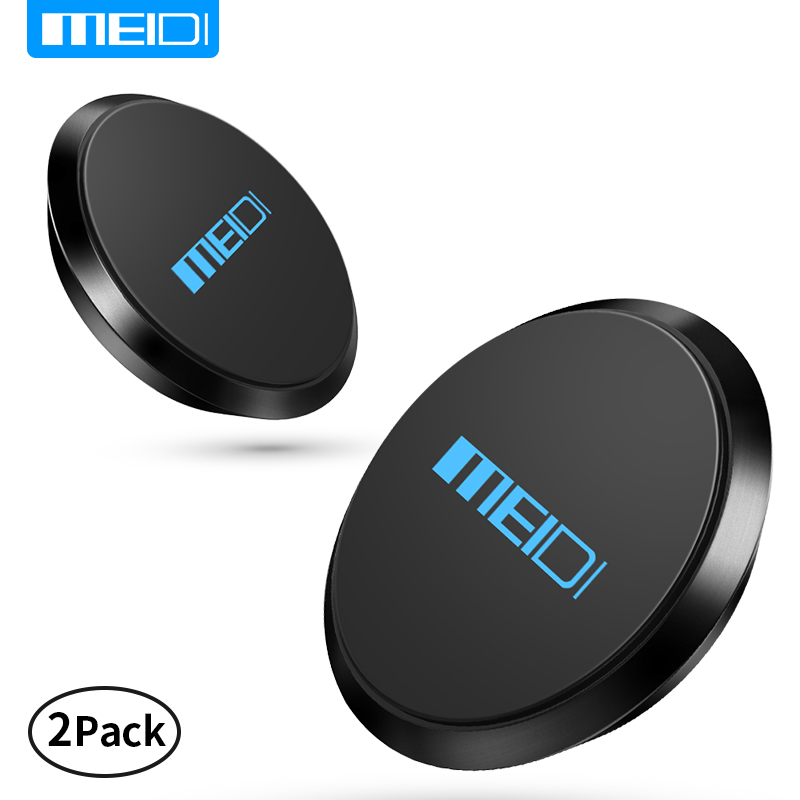 (2 Pack)MEIDI Magnetic Mobile Phone Holder Soporte Celular Para Auto Cell Phone Holder Stand For iPhone Magnet Mount Holder